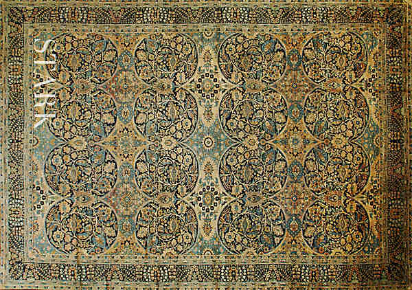 ORIENTAL KERMAN SEMI ANTIQUE  -ori-33561