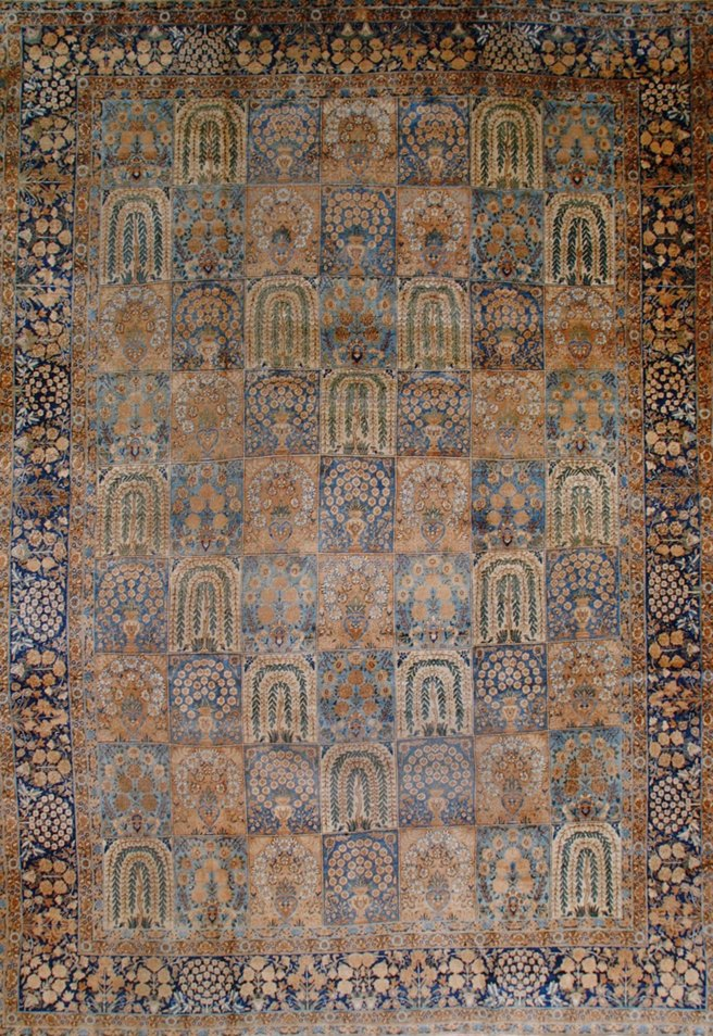 ORIENTAL KERMAN ANTIQUE       -ori-59054