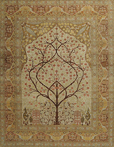 ORIENTAL TABRIZ ANTIQUE       -ori-86416d