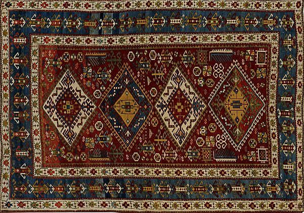 ORIENTAL KAZAK ANTIQUE        -ori-96782