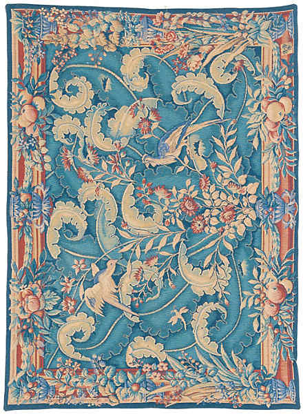 TAPESTRY MACHINE MADE FRANCE-tap-20478a