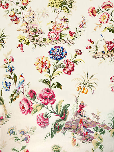 SOMERSET LINEN PRINT BLOOM
