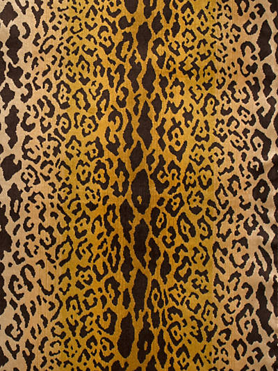 LEOPARDO IVORY, GOLD & BLACK