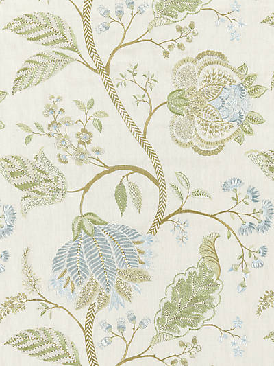 PALAMPORE EMBROIDERY SUMMER SAGE