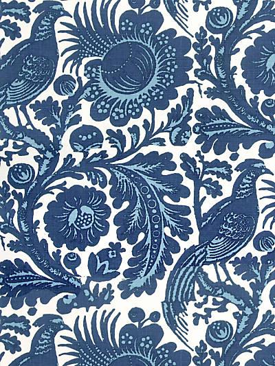 SPOLETO - OUTDOOR LIGHT & DARK BLUE ON WHITE