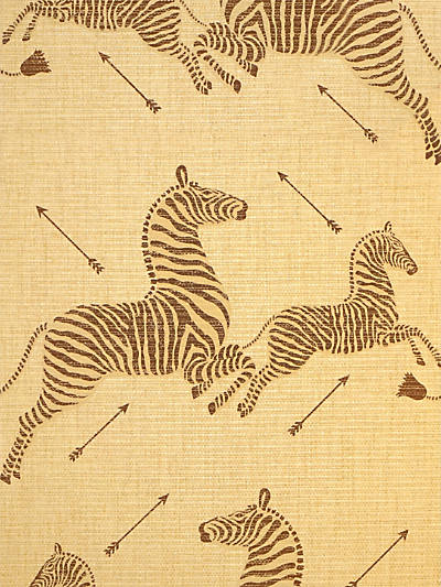 ZEBRAS - PAPERWEAVE NATURAL