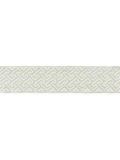 LABYRINTH EMBROIDERED TAPE SAND