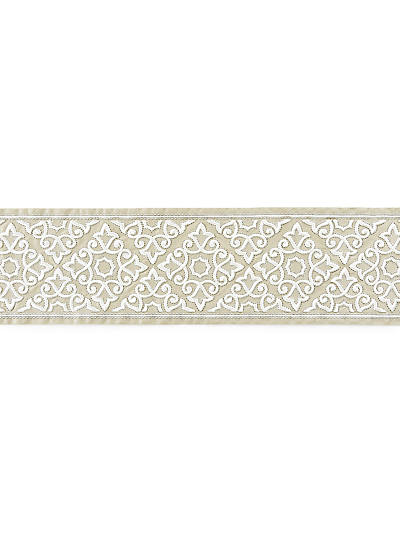 ORNAMENTAL EMBROIDERED TAPE LINEN