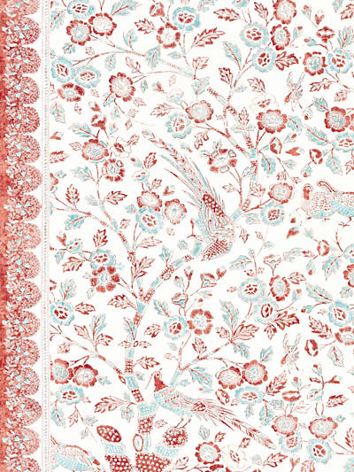 ANISSA PRINT CORAL SPICE