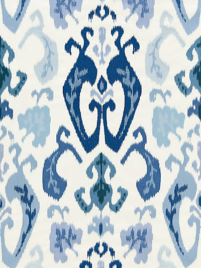 MANDALAY IKAT EMBROIDERY PORCELAIN