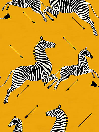 ZEBRAS - OUTDOOR YELLOW