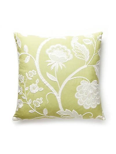 KENSINGTON EMBROIDERY PILLOW