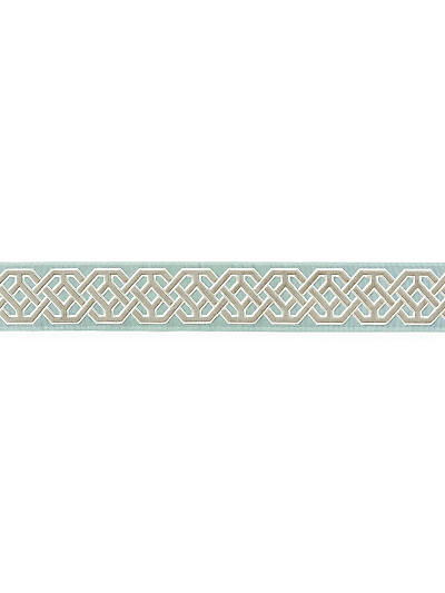 BEAUFORT VELVET TAPE AQUAMARINE