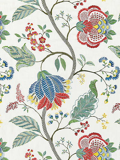 PALAMPORE EMBROIDERY BLOOM