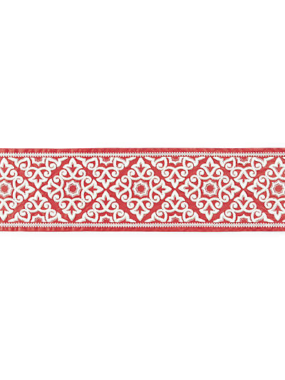 ORNAMENTAL EMBROIDERED TAPE CORAL