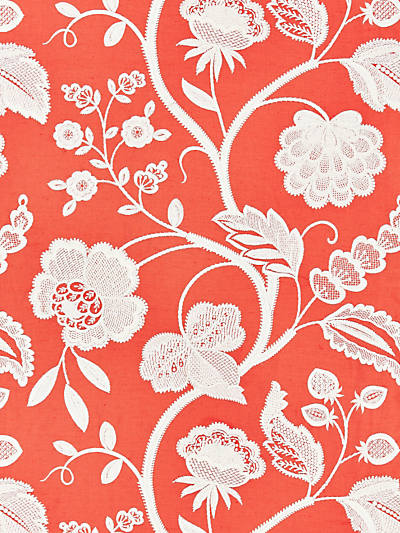 KENSINGTON EMBROIDERY CORAL