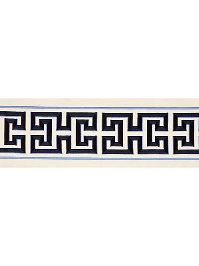 IMPERIAL EMBROIDERED TAPE NAVY