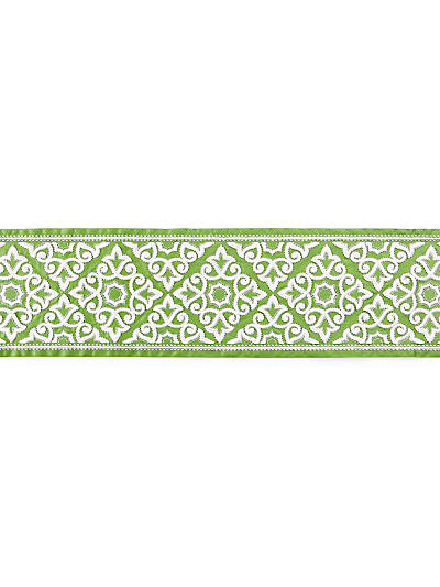 ORNAMENTAL EMBROIDERED TAPE JADE