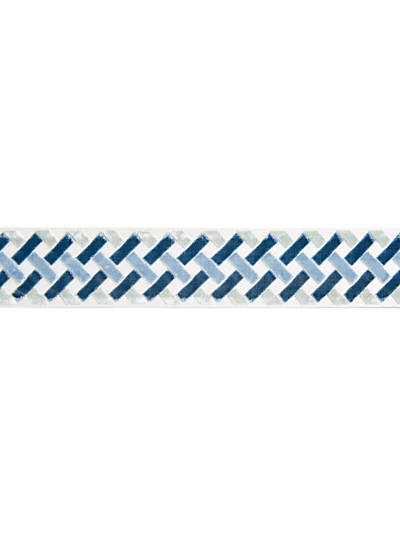 PARQUET VELVET TAPE BLUE LAGOON