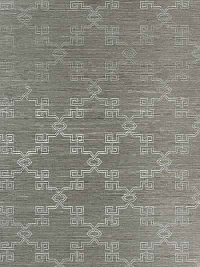 SUZHOU LATTICE SISAL SILVER ON PEWTER