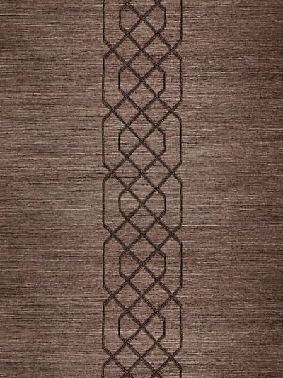 ADELAIDE BEADED SISAL CHOCOLATE