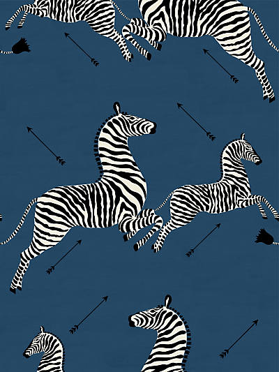ZEBRAS - FABRIC DENIM