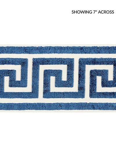 GREEK KEY VELVET TAPE