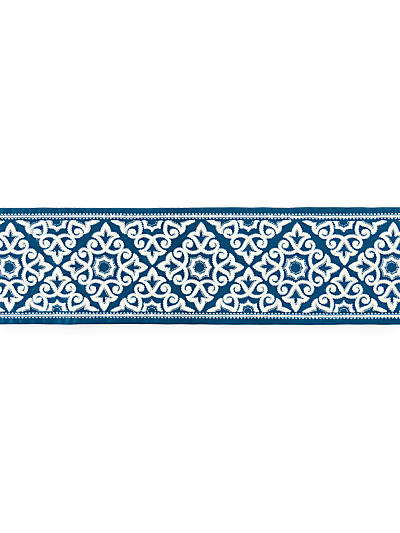 ORNAMENTAL EMBROIDERED TAPE PORCELAIN