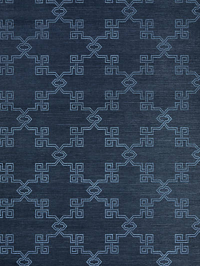 SUZHOU LATTICE SISAL MIDNIGHT