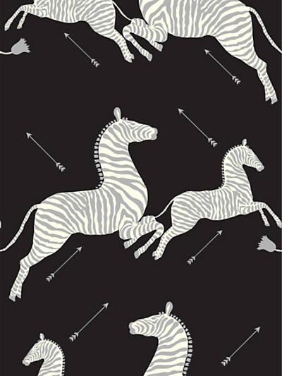 ZEBRAS - VINYL BLACK & SILVER