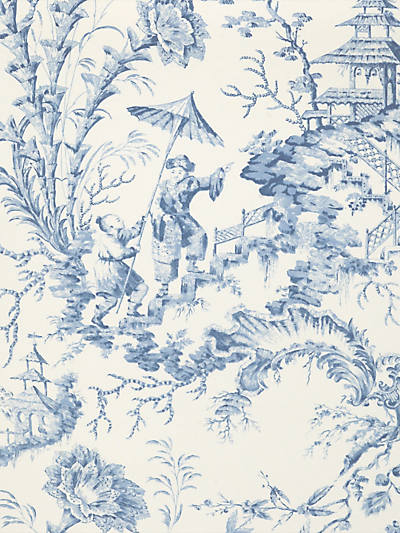 PILLEMENT TOILE CHINA BLUE