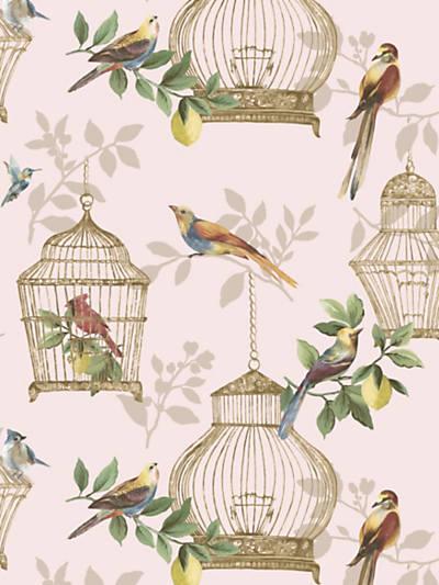 AUDUBON SONGBIRDS ON ROSE
