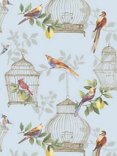 AUDUBON SONGBIRDS ON BLUE