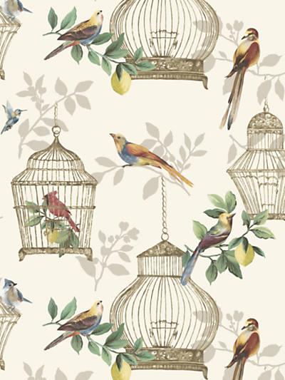 AUDUBON SONGBIRDS ON CREAM