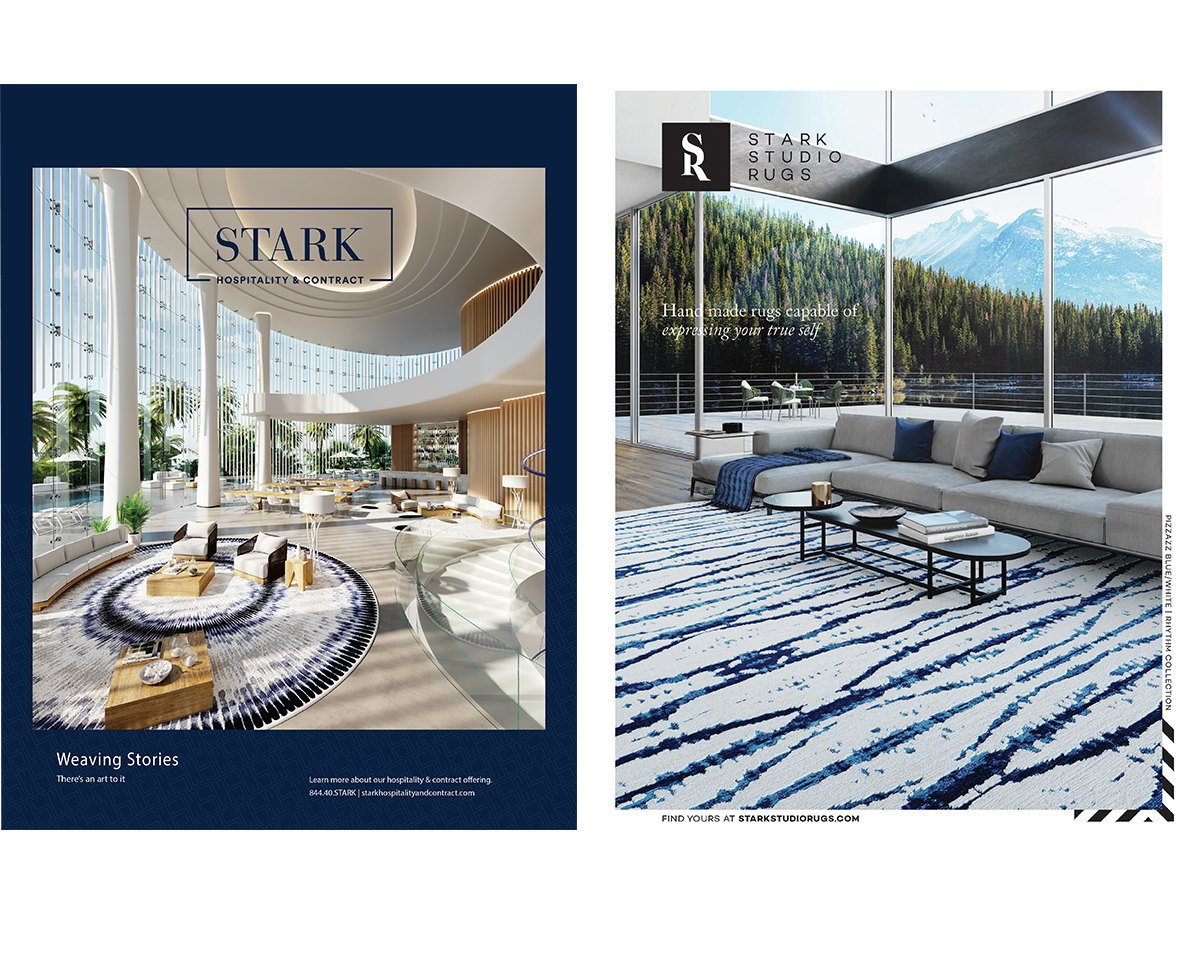 STARK LAUNCHES HOSPITALITY DIVISION AND STARK STUDIO RUGS