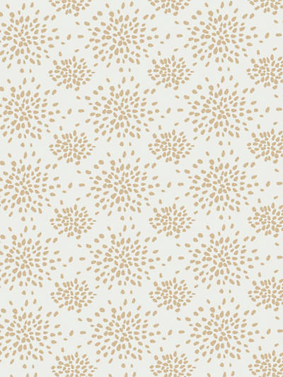 FIREWORKS BEIGE ON WHITE