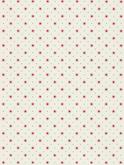 TRIXIE RED & BLACK ON WHITE