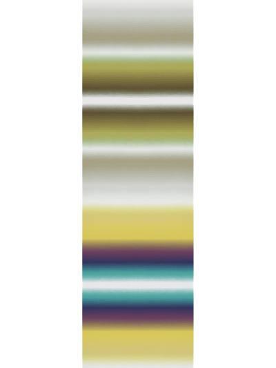 RIGA SFUMATO - PANEL OLIVE / VIOLET / TURQUOISE