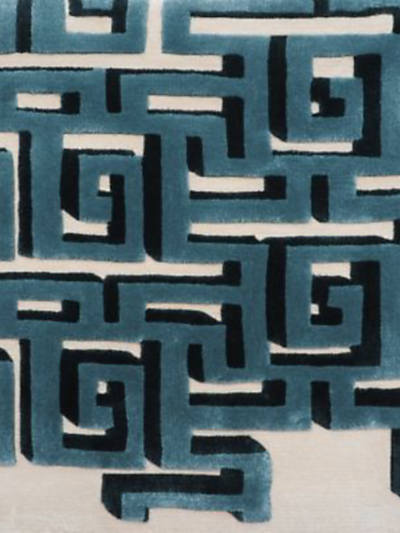 3D MAZE - BLUE - BESPOKE