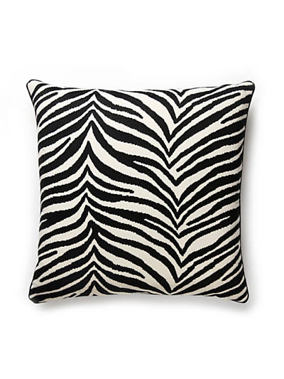 SINGITA PILLOW BLACK & WHITE