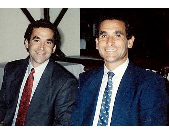 Steven and John Stark