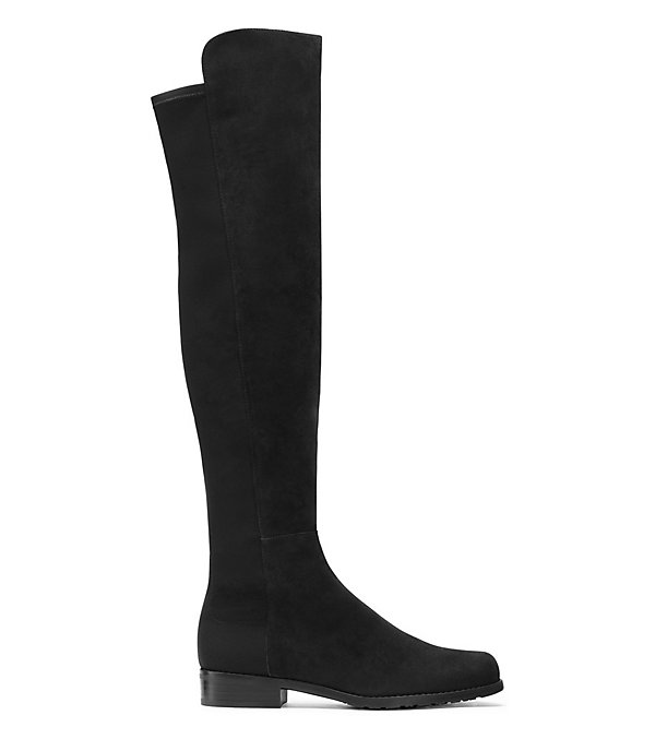 Stuart Weitzman - The 5050 Boot In Black - Size 34