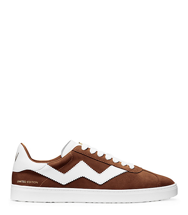 THE DARYL SNEAKER in WALNUT BROWN