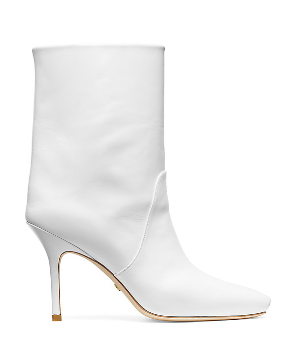 THE EBB BOOTIE in WHITE