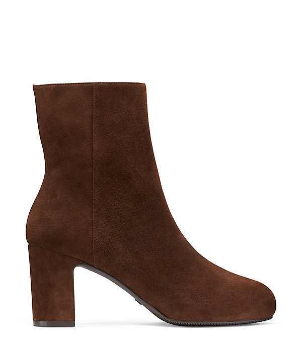 THE GIANELLA BOOTIE in WALNUT BROWN