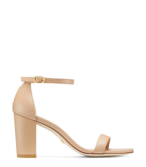 THE NEARLYNUDE SANDAL in ADOBE BEIGE