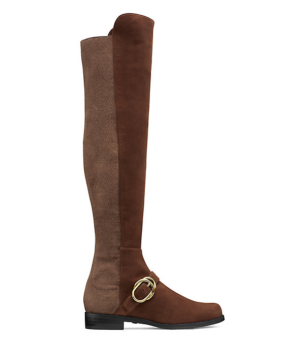 THE SIELLA BOOT in WALNUT BROWN
