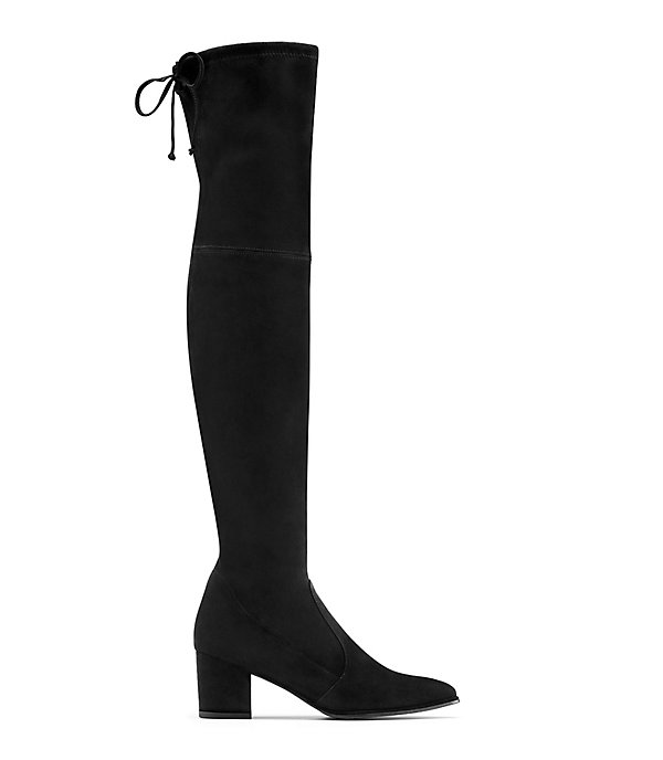THE THIGHLAND BOOT in BLACK