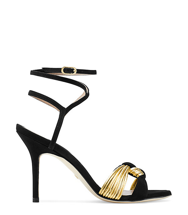 THE VELITA SANDAL in BLACK