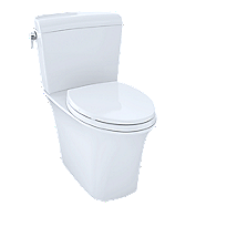 Maris® Dual Flush Two-Piece Toilet, 1.28 GPF & 0.9 GPF, Elongated Bowl